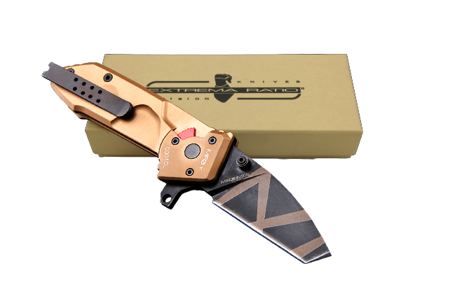 Extrema Ratio MF0TDW Small Folder Tanto - Desert Warfare