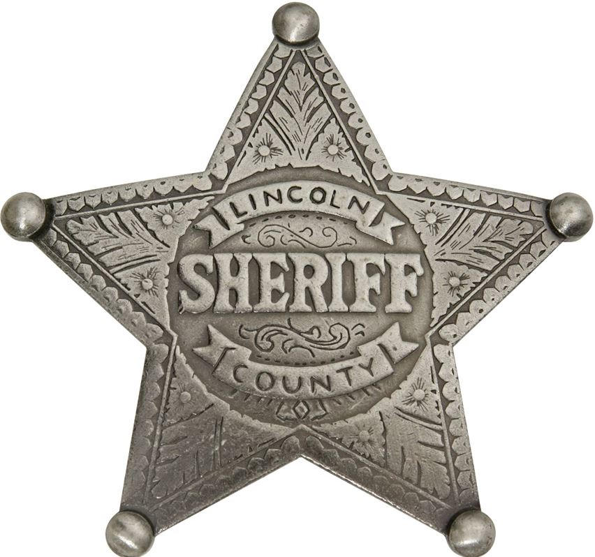 BOTOW Lincoln County Sheriff Badge