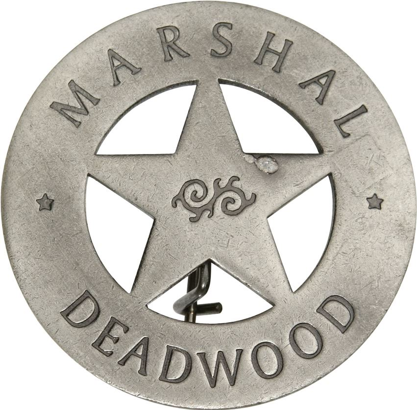 BOTOW Marshal Deadwood Badge