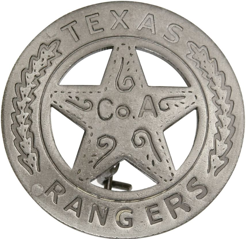 BOTOW Texas Rangers Badge
