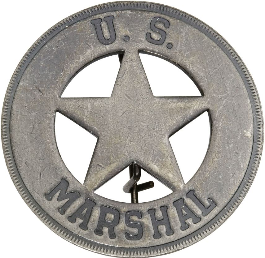 BOTOW US Marshal Round Badge