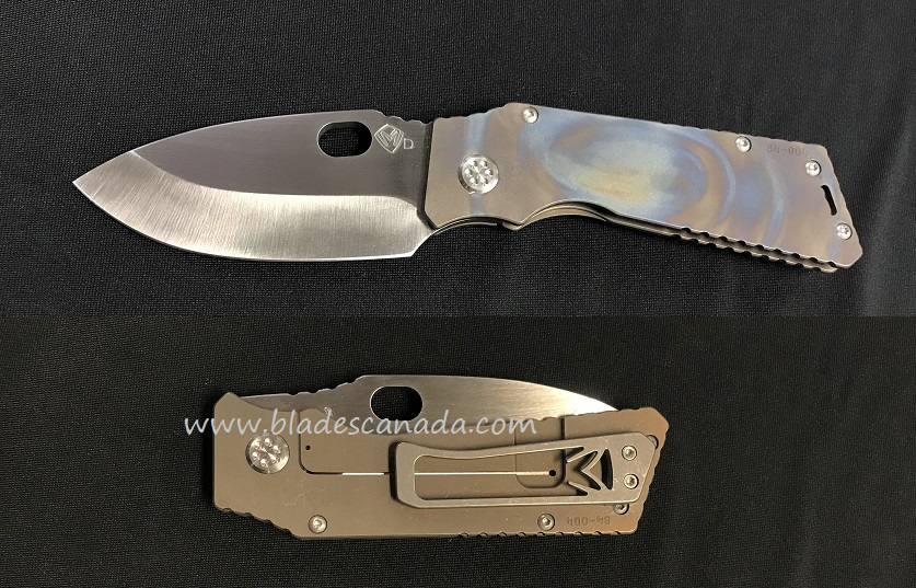 Medford TFF-1 Tactical Fighting D2 Tumbled- Ti Flame/Bronze Ano