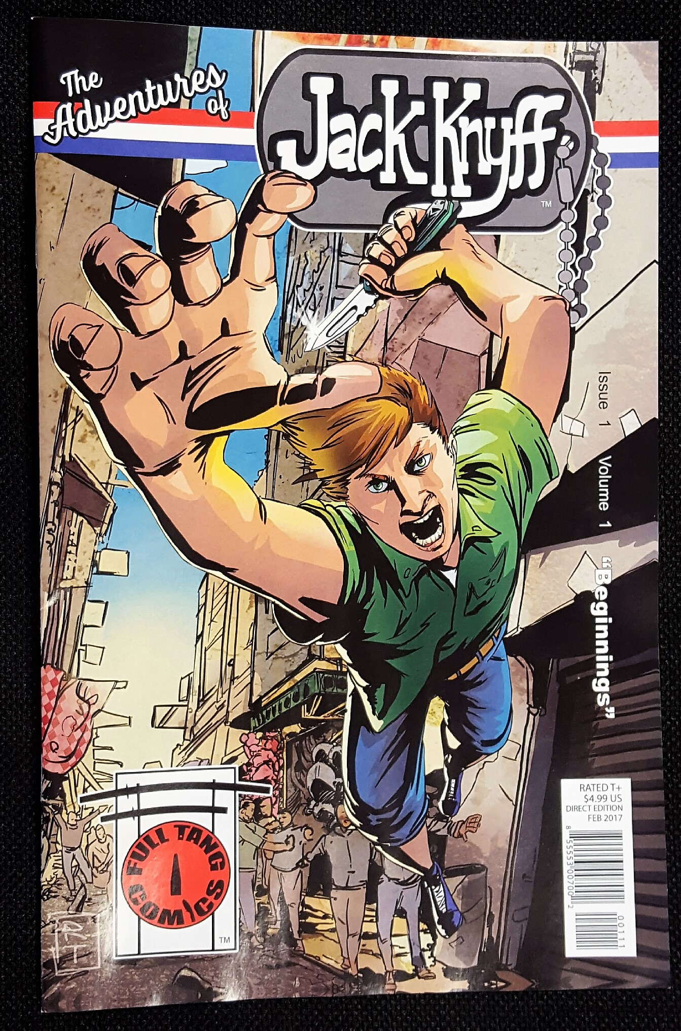 Medford Comic 'The Adventures of Jack Knyff' Issue 1, Vol 1