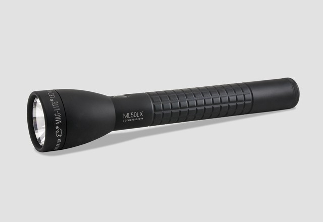 Maglite ML50LX 3 C Cell Matte Finish Flashlight - 611 Lumens