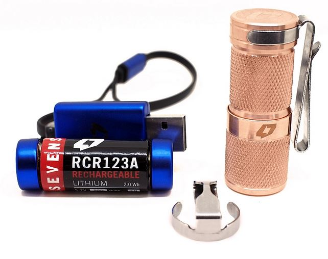 Foursevens Mini MkII Combo Solid Copper - 980 Lumens