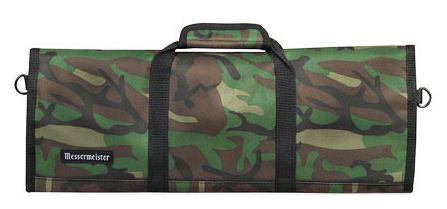 Messermeister 12 Pocket Camouflage Padded Knife Roll