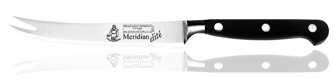 "Messermeister Meridan Elite 5"" Scalloped Tomato Knife (Online)"