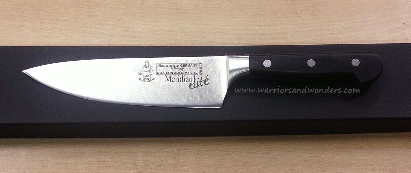 "Messermeister Meridian Elite 7"" Stealth Chef's (Online Only)"