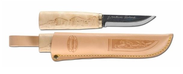 Marttiini 535010 Arctic Carving Knife w/ Leather Sheath