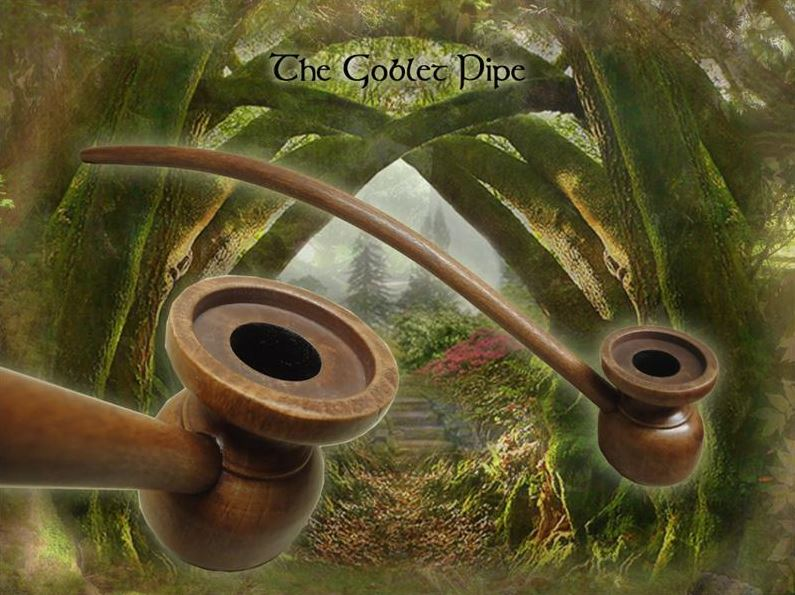 MacQueen Pipes 'The Goblet' - Birch Wood