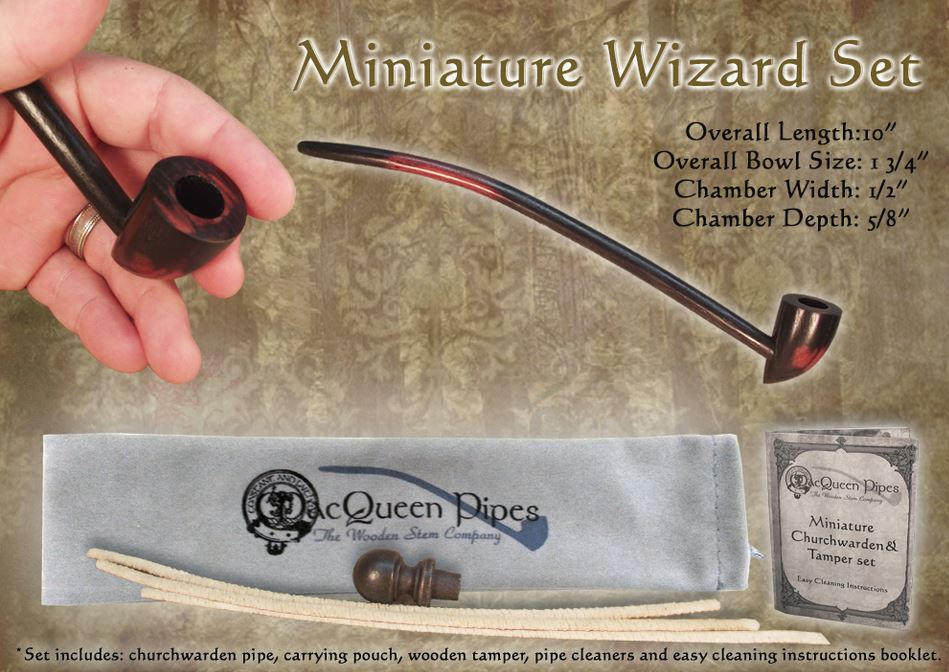 MacQueen Pipes 'Miniature Wizard' Set