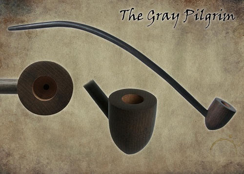MacQueen Pipes 'The Gray Pilgrim' - Briar Wood