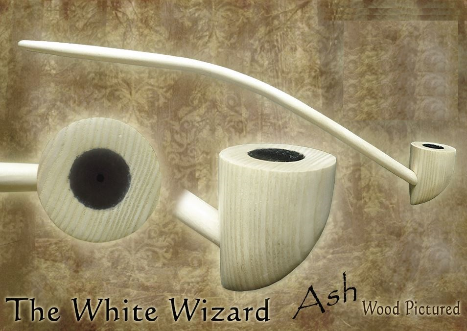MacQueen Pipes 'The White Wizard' - Ash Wood