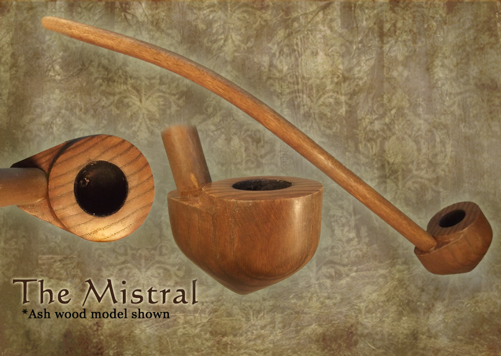 MacQueen Pipes 'The Mistral' - Ash Wood