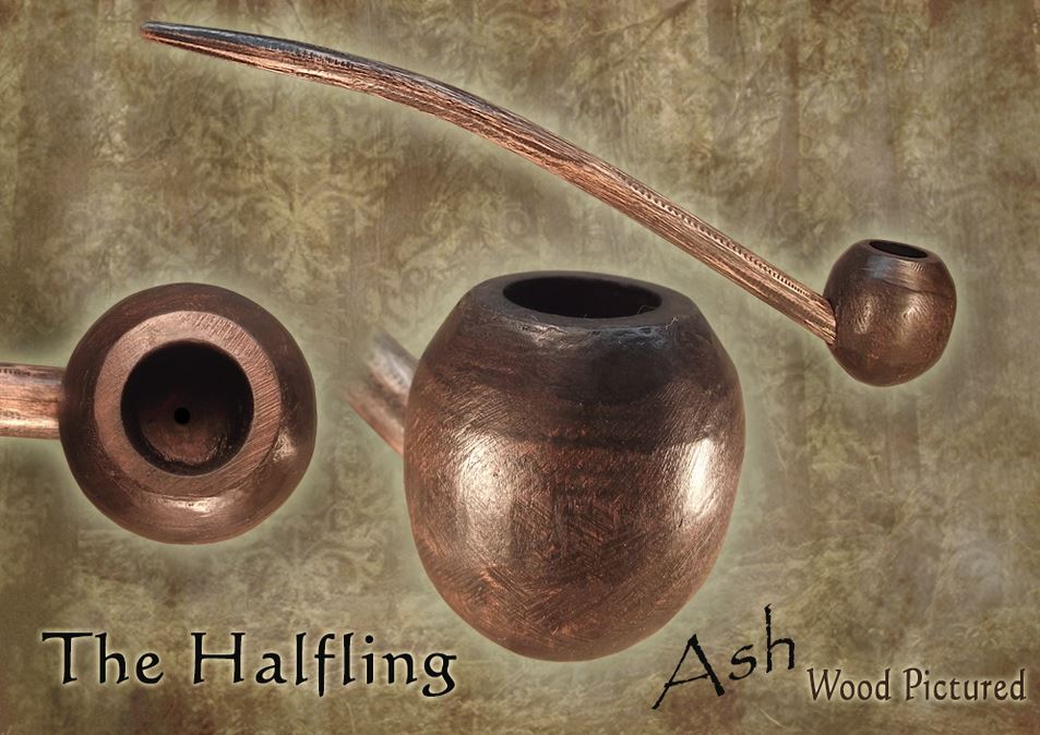 MacQueen Pipes 'The Halfling' - Ash Wood