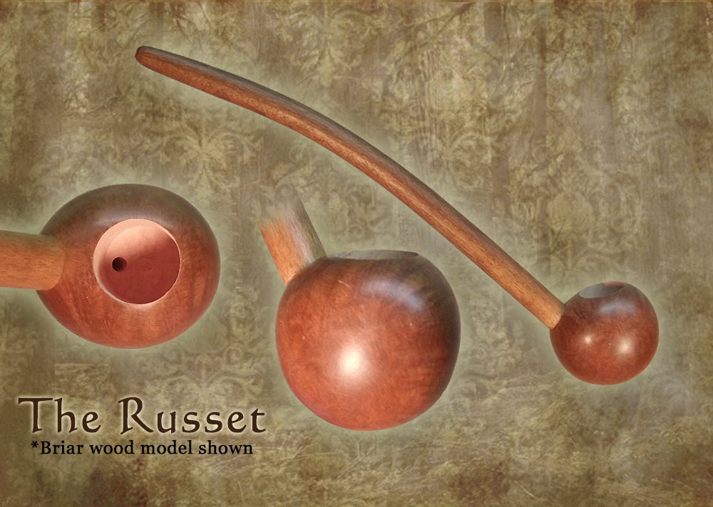 MacQueen Pipes 'The Russet' - Briar Wood