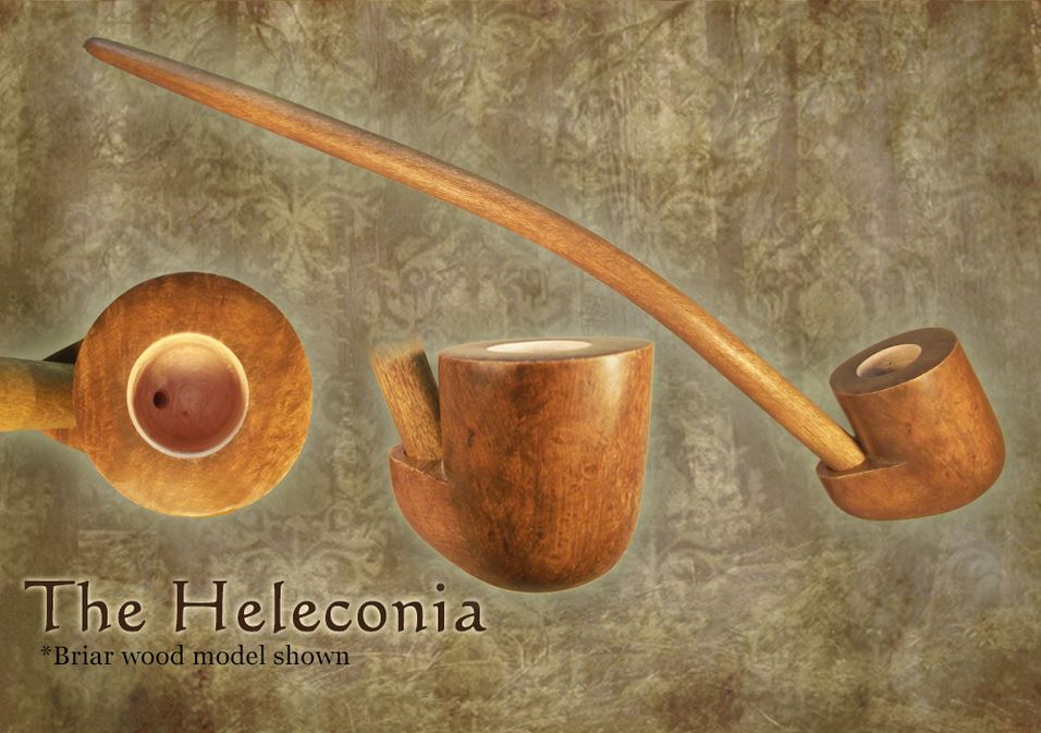 MacQueen Pipes 'The Heleconia' - Briar Wood