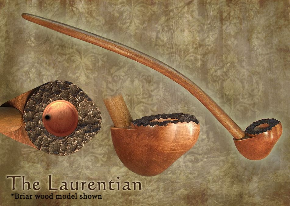 MacQueen Pipes 'The Laurentian'' - Briar Wood