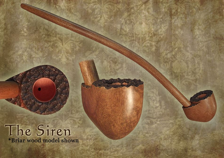 MacQueen Pipes 'The Siren' - Briar Wood
