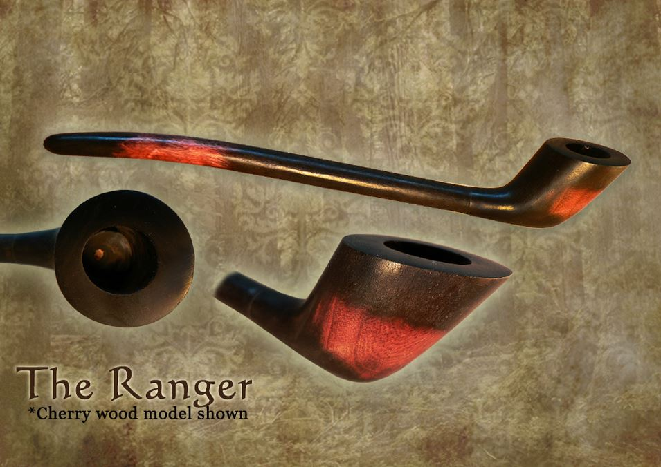 MacQueen Pipes 'The Ranger' - Cherry Wood