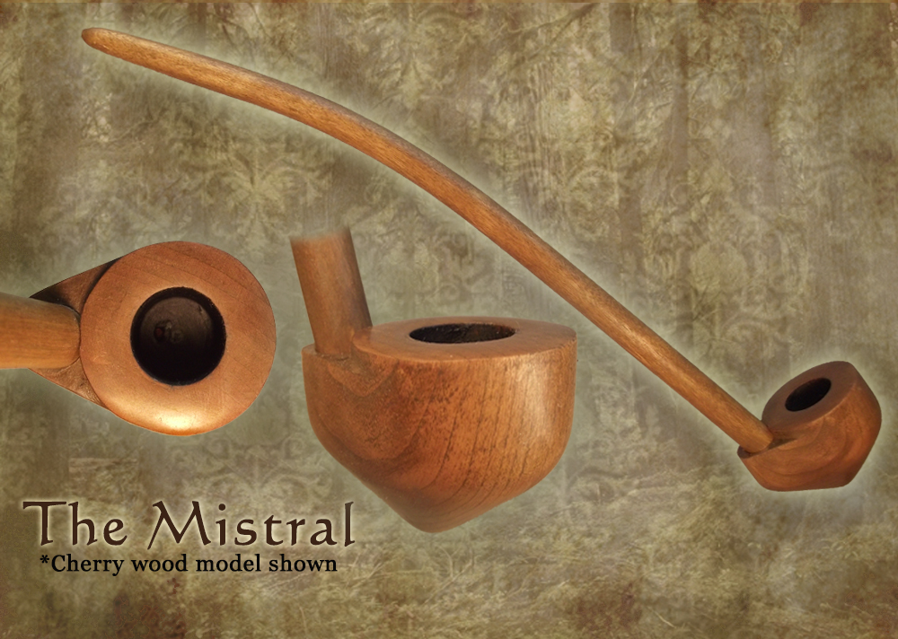 MacQueen Pipes 'The Mistral' - Cherry Wood