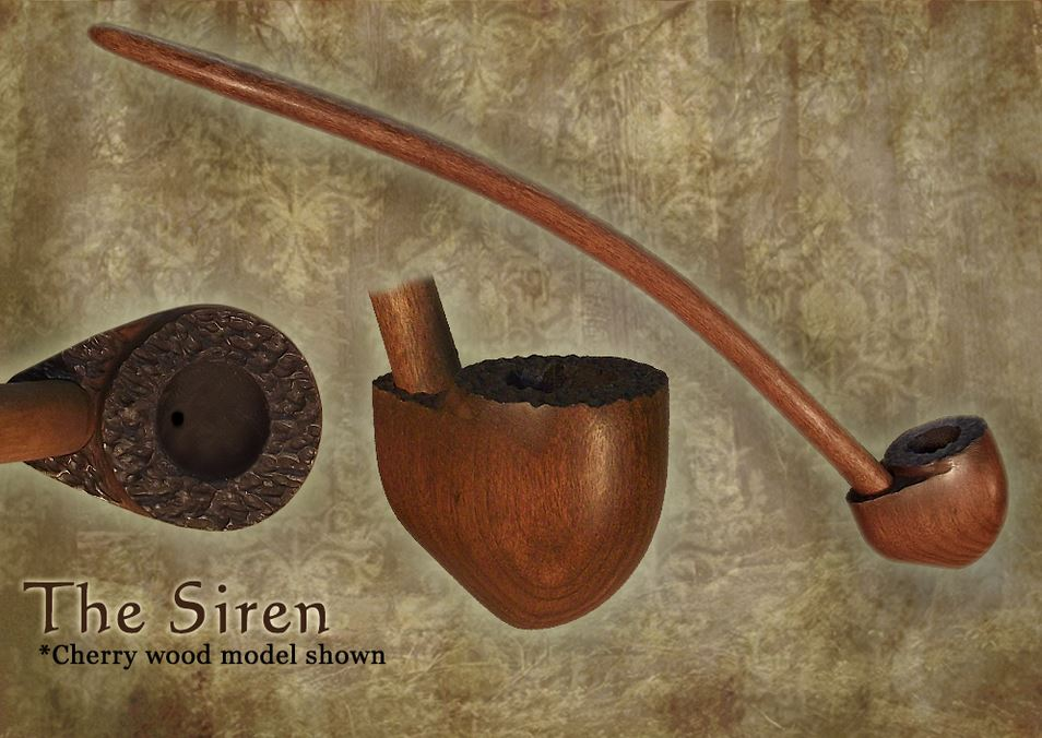 MacQueen Pipes 'The Siren' - Cherry Wood