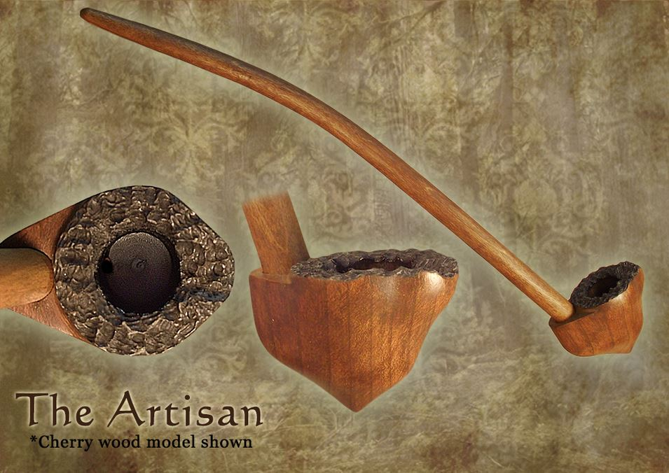 MacQueen Pipes 'The Artisan' - Cherry Wood