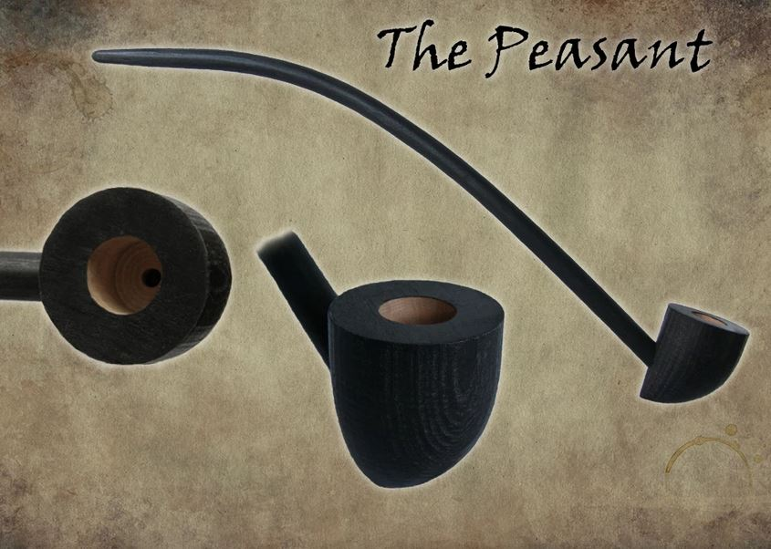 MacQueen Pipes 'The Peasant' - Cherry Wood
