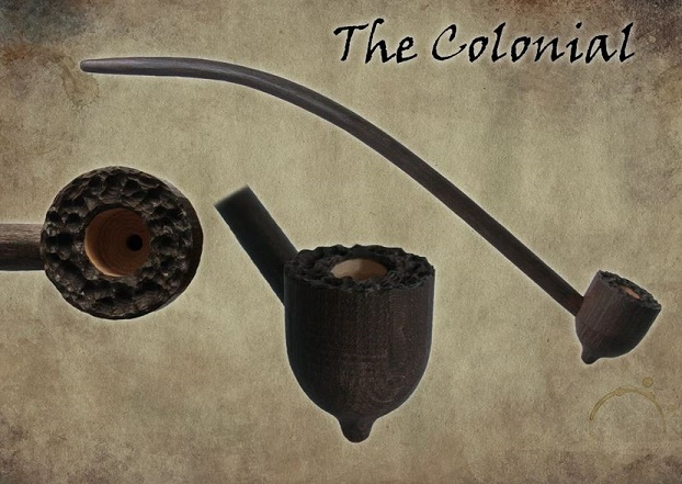 MacQueen Pipes 'The Colonial' - Briar Wood