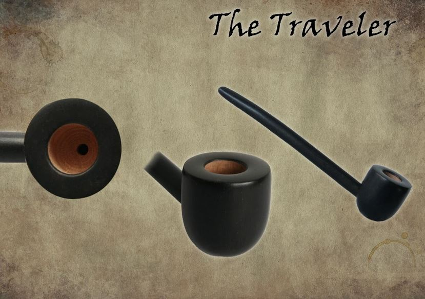 MacQueen Pipes 'The Traveler' - Briar