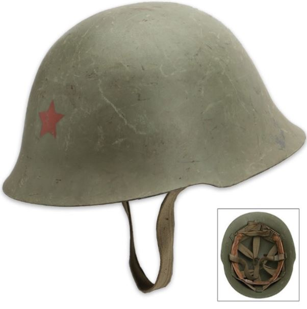 Serbian Military Steel Authentic Helmet