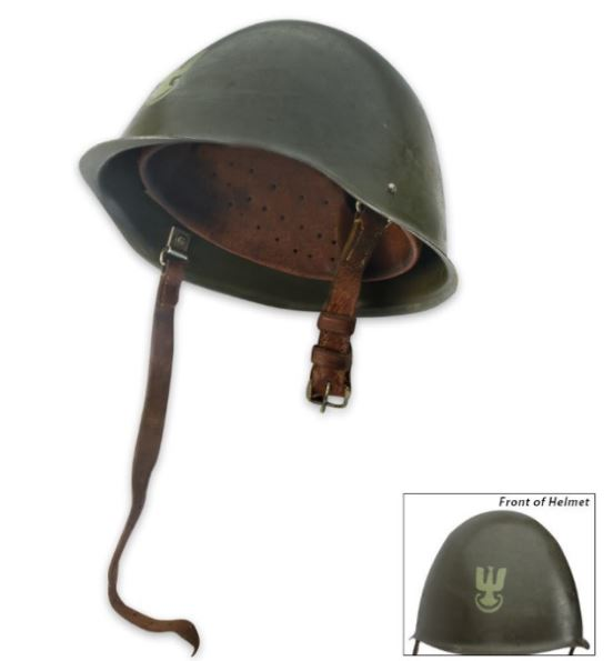NATO Steel Authentic Helmet [Used Surplus]