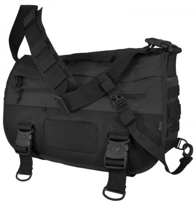 Hazard 4 Defense Courier Laptop Messenger Bag - Black