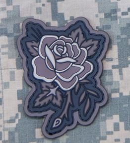 Mil-Spec Monkey Patch - Rose Tattoo PVC