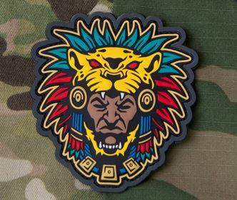 Mil-Spec Monkey Patch - Aztec Warrior Head 1 PVC [Full Colour]