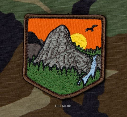 Mil-Spec Monkey Patch - Mountain Adventure 1 [Full Colour]