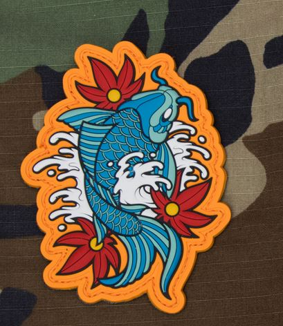 Mil-Spec Monkey Patch - Koi Tattoo 1 PVC