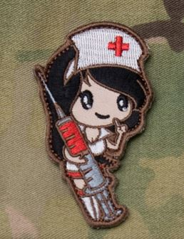 Mil-Spec Monkey Patch - Nurse Girl