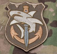 Mil-Spec Monkey Patch - Tac Shark