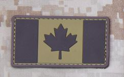 Mil-Spec Monkey Patch - Canadian Flag PVC