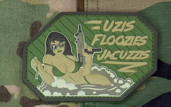 Mil-Spec Monkey Patch - Uzis Floozies and Jacuzzis PVC