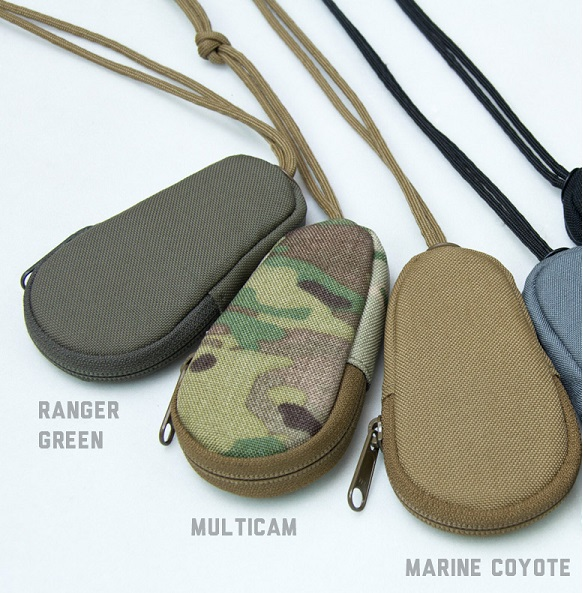 Mil-Spec Monkey Zippered Key Pouch - Coyote