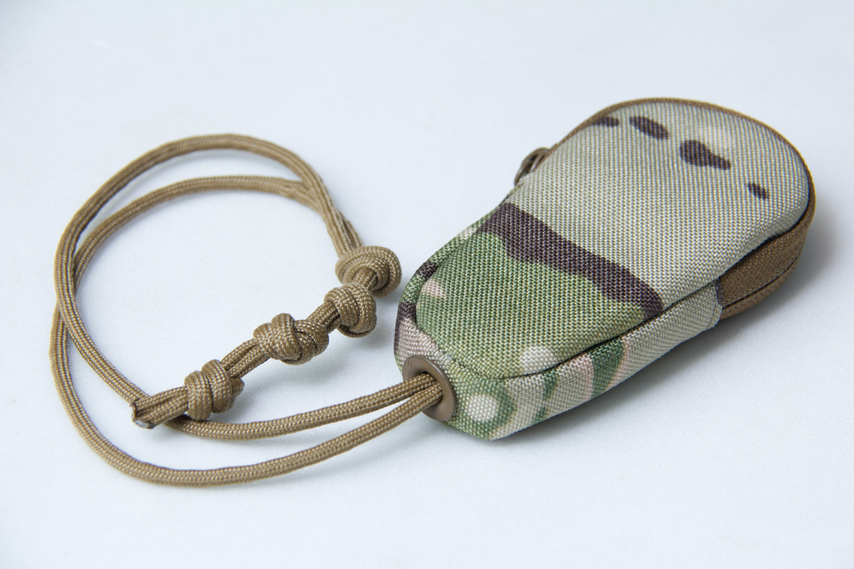 Mil-Spec Monkey Zippered Key Pouch - Multicam