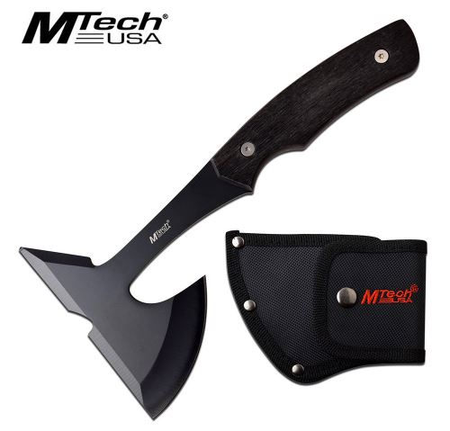 Mtech 600BK Mini Axe Black w/Nylon Sheath (Online Only)