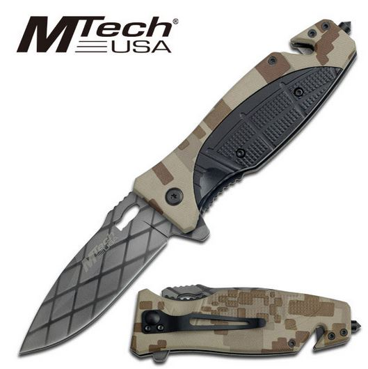 MTech 743DM Black Web - Desert Camo (Online Only)