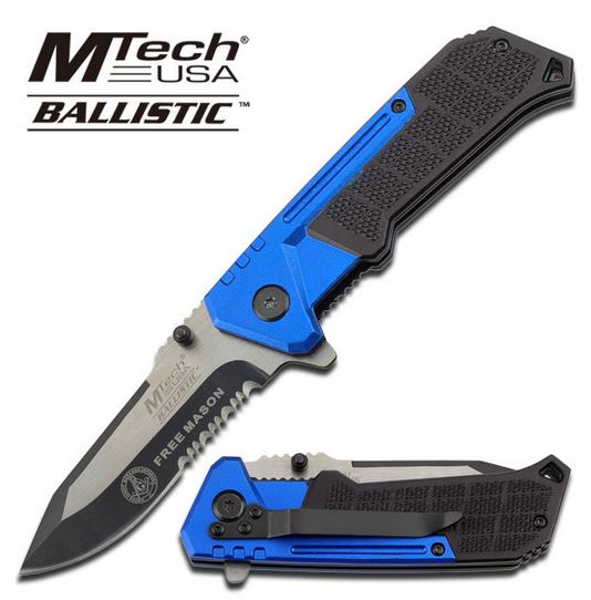 MTech Ballistic A807MS Blue Free Mason Assisted (Online Only)
