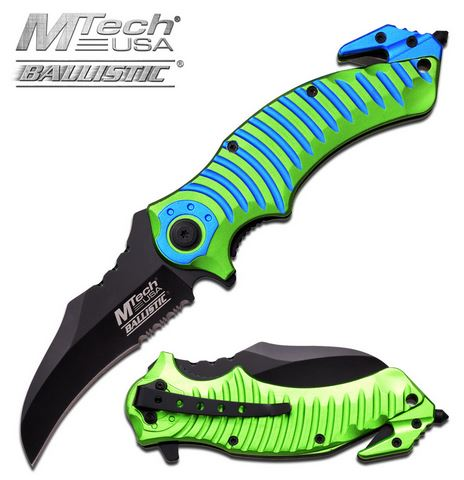 MTech A884GB Mata Blue Green Assisted Open (Online Only)