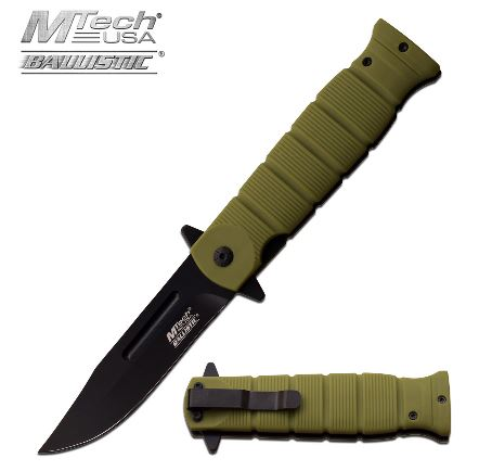 Mtech MTA905GN Folding Knife Assisted Opening (Online Only)