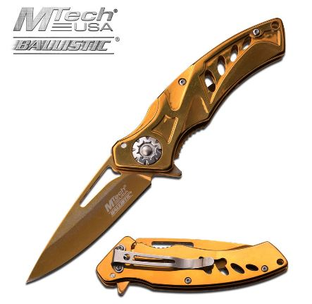 Mtech MTA917GD Folding Knife Assisted Opening (Online Only)