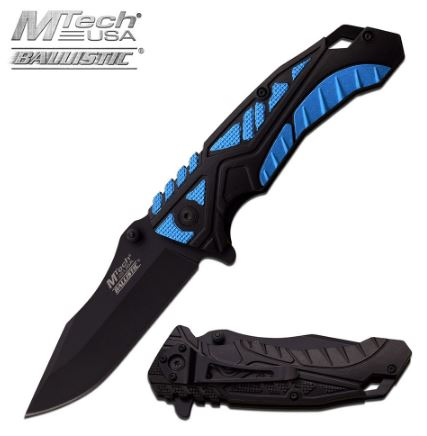 Mtech MTA954BL Folding Knife Assisted Opening (Online Only)